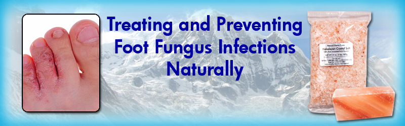 Natural Home Cures Himalynan Salt - Foot Fungus
