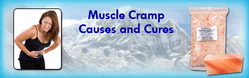 Natural Home Cures Himalayan Crystal Salt For Muscle Cramps