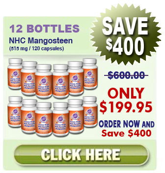 Invest In 12 Bottles of our Freeze Dried Mangosteen For $199.95